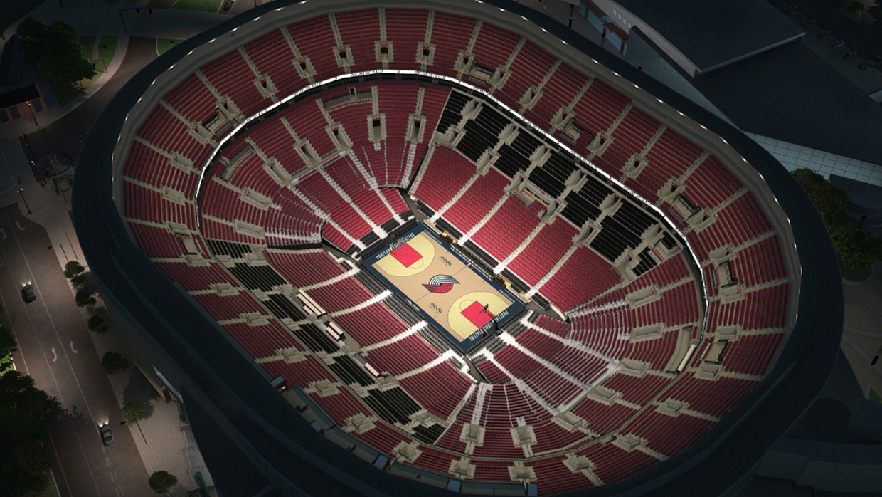 Portland Trail Blazers Virtual Venue By Iomedia